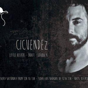 Cicuendez - Rats, Vicious Radio (04-07-2015)