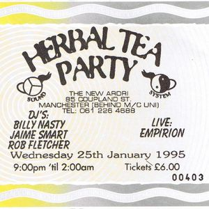 Empirion Ciao and Narcotic Influence live at Herbal Tea Party in Manchester 25 January 1995