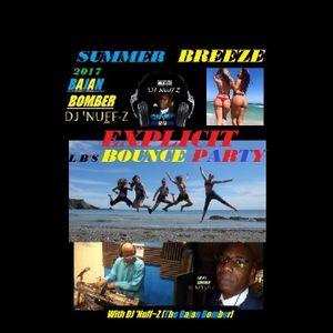 SUMMER BREEZE..  LB's BOUNCE BEACH PARTY