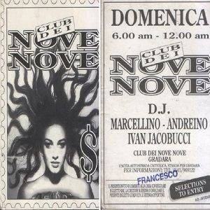 Ivan Iacobucci @ Club Dei Nove Nove, Gradara PU - After - 12.12.1991