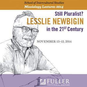 "Missiology Lectures: ""Newbigin in His Time"" with Wilbert Shenk"