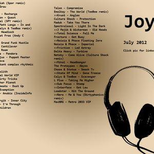 JoyC  3 deck July mix