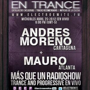 """Mauro - Guest mix for """" Colombia en Trance """" 04-28-2012"""