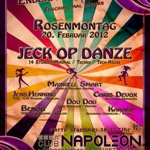 Maxwell Smart @ TdE Jeck op Danze 20.02.2012 Club Napoleon
