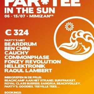 Ben Chini live at club BA Mimizan France (Latin Tech House)