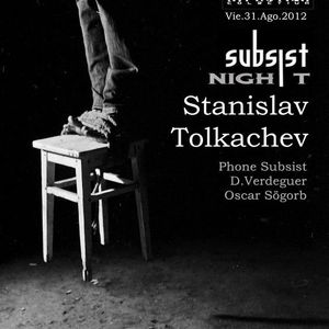 Fon @ Miniclub / subsist party (31.8.12)