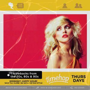 Timehop Thursdays LIVE @ Beauty Bar (9.14.17)