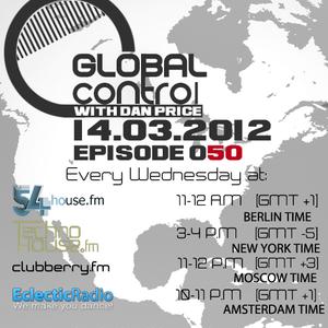Dan Price - Global Control Episode 050 (14.03.12)