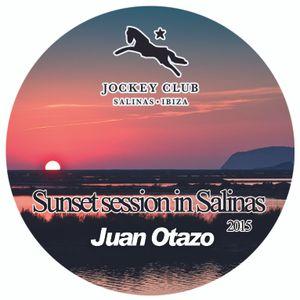 Sunset in Salinas (Jockey Club Ibiza 2015)