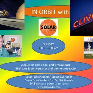 In Orbit with Clive R- Solar Radio Jan 3 pt.1- Bert Berns tribute/Patti Drew/Pops Staples and more..