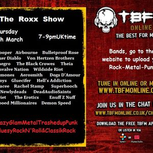 The ROXX Show TBFMonline radio 24th March A 4 hour drinking wine special !