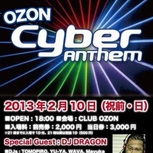 Cyber Anthem at OZON, Nagoya 2013-02-10