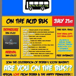 Brent Spar @ The Acid Bus @ The Frisco Inn, Amsterdam 21-07-12