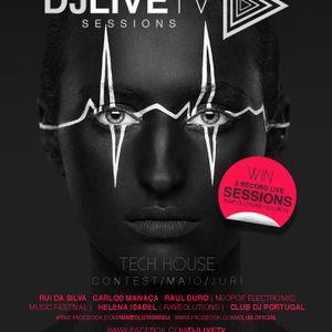DJ LIVE TV - Tech House Contest - Roddes