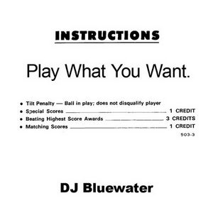 DJ BlueWater - Play What You Want