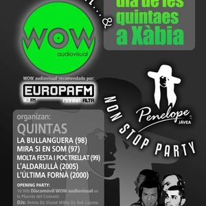 WOW sessions - CLOSSING Remember - Quintaes Xàbia 2013 - Betriu & V.Milda Djs