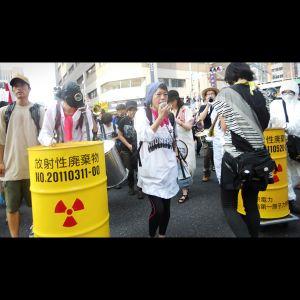 No nukes demonstration Tokyo July 29, 2012 edited short ver.