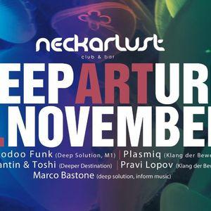 DeepARTure 05.11.2011 @ NECKARLUST HN