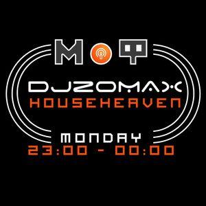 DJ ZOMAX - House Heaven # 44 plus Dj Anthony guest mix