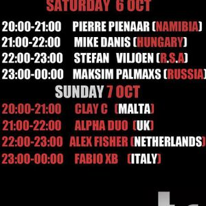 1ST HOUR ALEX FISHER - 2ND HOUR FABIO XB (LEI TAYLOR B'DAY SPECIAL DAY 2) - 07 OCTOBER 2012