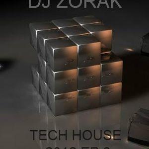 DJ ZORAK  - TECH HOUSE 2012 EP 3