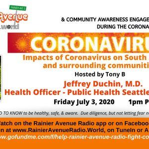 Coronavirus Special 45 - Jeffrey Duchin