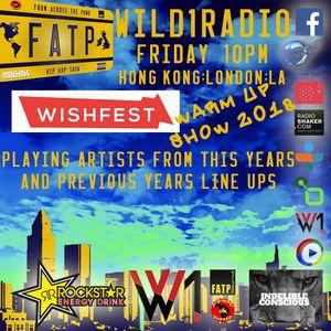 F.A.T.P HIP HOP SHOW UK s3 e21 The WishFest 2018 Warm Up Show