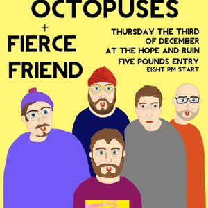 CATV On The RADIO- This week's guest is Octopuses Rob Grice -Thursday 26 November 2015