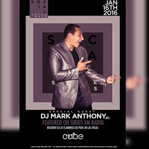 Mark Anthony- I'm Just Going Live, January 2015 Live/ Cube Nightclub (Toronto, Canada)