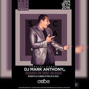 Mark Anthony- I'm Just Going Live, January 2015 Live/ Cube Nightclub (Toronto, Canada)