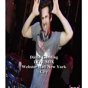 Dävid Gänding-LIVE MIX Webster Hall New York City