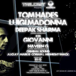 Naveen G Live @ Trilogy (7-13-2012)