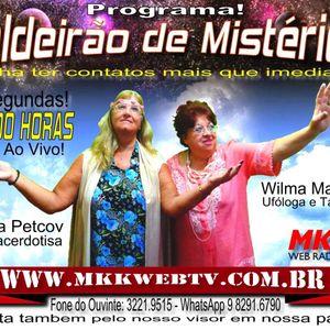 Programa Caldeirão de Mistérios 28/03/2016 - Wilma Mazzoni e Marisa Petcov