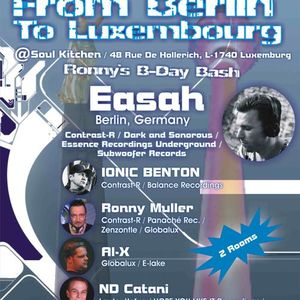 Ronny Muller - Soulkitchen live cut Fr.26.04.2014 From Berlin To Luxembourg