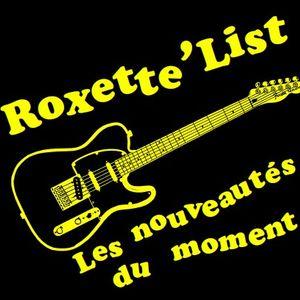 La Roxette'List #77 diffusée sur Studio Zef le 02/11/2017
