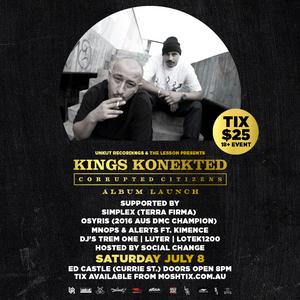 SoundScape HipHop MixTape - 7/7/17 - Kings Konekted