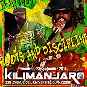 junior culture live @ killimanjaro 23 sept 2011 /roots&discipline sound