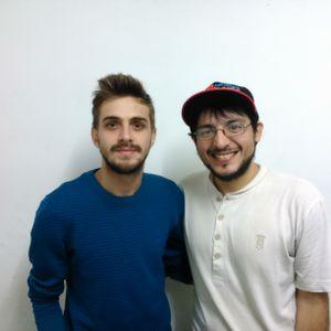 POR VELEZ Con Sebastian Auro y Tomas Amerio 25-4-2017