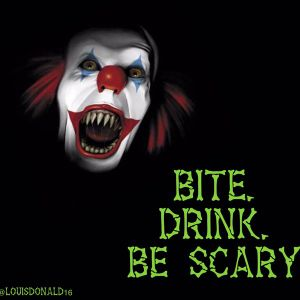 Bite. Drink. BE SCARY