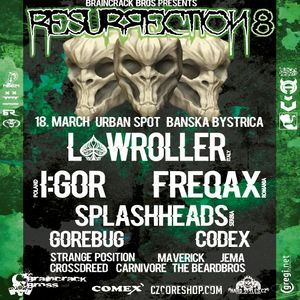 Braincrack Bros podcast 22 mixed by JEMA - live from RESURRECTION 8