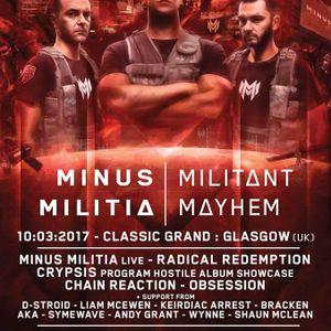 AKA - Minus Militia Militant Mayhem Warm-Up Mix