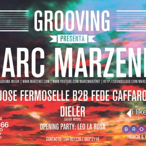 Leo La Rosa @ Grooving opening party set with Marc Marzenit