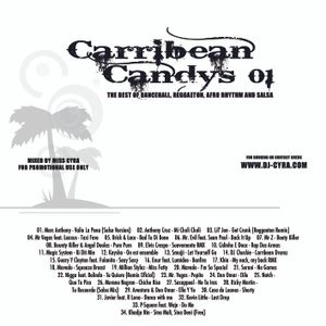Miss DJ Cyra - Carribean Candys Vol. 01