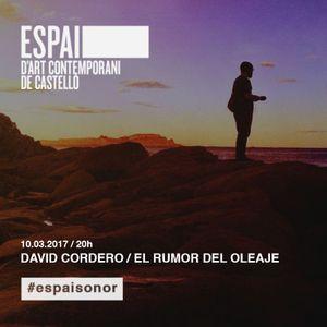 Cap. 26 / David Cordero / El Rumor del Oleaje