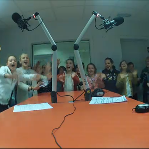 Studio 6B - VBS De Pinte - Kennismakingsworkshop Radio - 7 november 2014