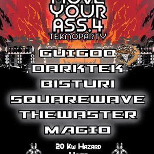 Darktek - Live @ Move your Ass 4 (Parma Italy)