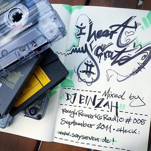 RRRadio 005 - I heart my crates 2 - mixed by DJ Einzah