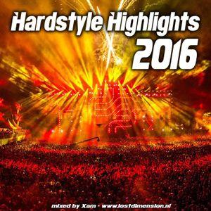 Xam - Hardstyle Highlights 2016
