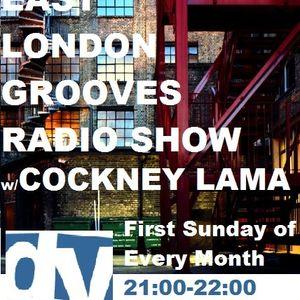 Cockney Lama@East London Grooves/DeepVibes Radio London 8/09/2012