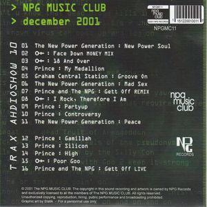 NPG Audio Show 11